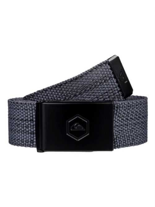 QUIKSILVER MENS BELT.PRINCIPLE III 32mm GREY WEBBING TROUSERS JEAN STRAP 9S 92 K